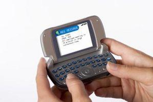Hvordan å fortelle hvis du har tekst igjen på AT&T