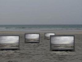 Hva er forskjellen mellom en bakre projektor-TV, en LCD & en Plasma?