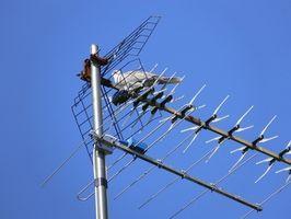 Hvordan kan jeg bruke TiVo serien 2 med en antenne?