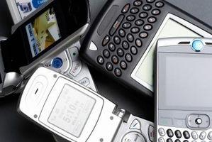Hvordan sender mine bilder av telefonen til PCen?