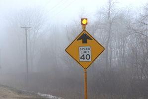 De vanligste fartsgrense tegnene