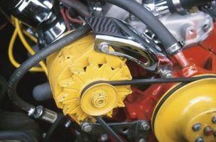 1996 Nissan Sentra Dynamo fjerning & installasjon