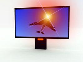 Hvordan å bruke en TV som en skjerm
