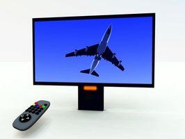 Hvor å fastsette en bakre projeksjon TV som ikke slår seg på