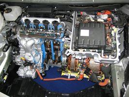 Vedlikehold av en 2007 Honda Civic hybridbil
