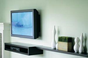 Kan du rense en skjerm på JVC TV?