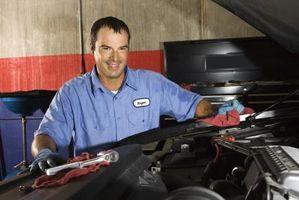 TBI forgasser konvertering på en Chevrolet