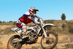 Fremme trening for motorsykkel Riding