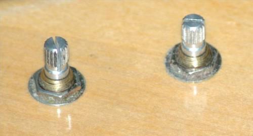 Hvor å feilfri knotter på Vintage lydutstyr
