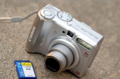Canon Powershot A530 instruksjoner