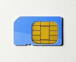 Hvordan sette inn et tyngdekraften SIM-kort
