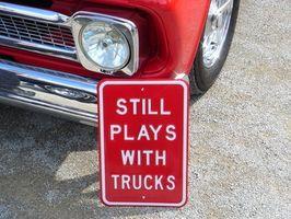 Hvordan erstatte lastebil seng veden på en 72 Chevy