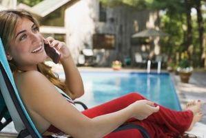 Hvordan vet jeg om en telefon er skadet av vann?
