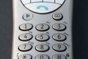 Hvordan sette opp en PhoneMate telefon