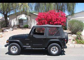 Hvordan fjerne en Jeep topp