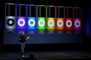 Sammenligning av iPod Nano fjerde & tredje generasjons