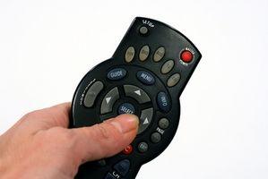 Hvordan du justerer fargen på en projeksjon TV