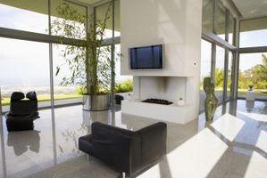 LG Plasma flatskjerm TV & effekten av temperatur