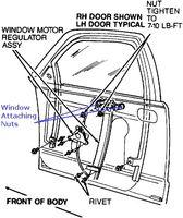Hvor å fastsette en passasjer Side bilvinduet