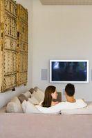 Hvordan skjule ledninger fra henger TV