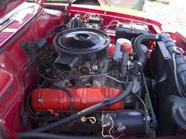 Sylinder spesifikasjoner for en 1989 Mustang LX