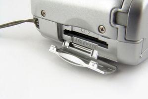 Hvordan bruke Kodak Micro SD kortet