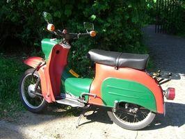 gammel moped