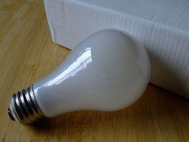 Deler av en LED-lys