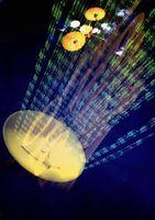 Hva slags Signal brukes for satellittradio?