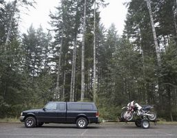 Hvordan bygge en billig motorsykkel Trailer