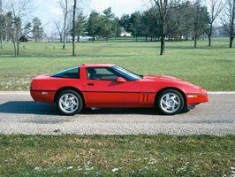 1998 Chevy Corvette automatisk spesifikasjoner