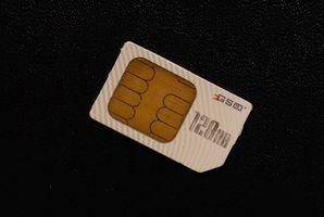 Hvordan du flytter en telefonbok på SIM-kortet på en LG CU400