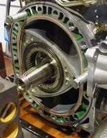 Hvordan en Wankel motoren fungerer