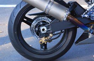 Verktøy for å fjerne en motorsykkel dekk