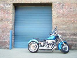Hva er Gear Skift mønster på en Suzuki motorsykkel?