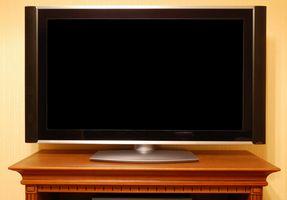 Hvordan rengjøre en stor Plasma-TV