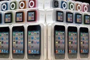 Hva forårsaker døde piksler på en iPod?