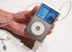 Hvor å forlenge akkumulator livet av iPod Classic