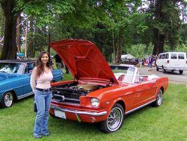 2000 V6 Mustang inntak dreiemoment spesifikasjoner