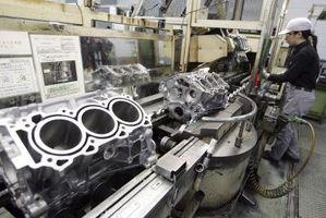 Fastslå en GM motor blokkstørrelse