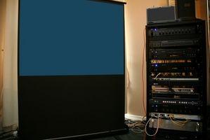 Hvordan fokus bak projeksjon TV