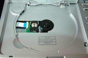 Hvordan bygge en håndholdt Laser med DVD-spiller deler