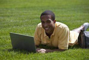 Hva er forskjellene og likhetene mellom TV og en bærbar PC?