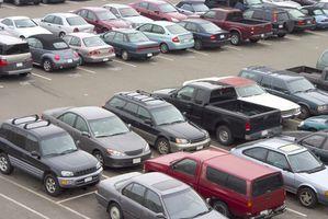 Riktig prosedyre for å hente ut en bil fra en parkeringsplass