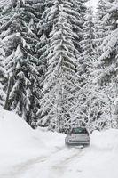 Hvordan unngå Spinning i snøen