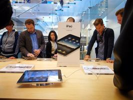 Hvordan sammenligne iPhone og iPads