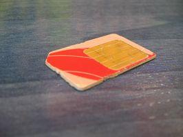 Gjenopprette et Simcon SIM-kort