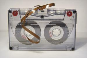 Hvordan overføre musikk fra et bånd til en MP3-spiller