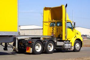 Hvordan øke drivstoff kjørelengde for Semi lastebiler