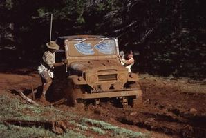 1995 Jeep problemer med kodelisten